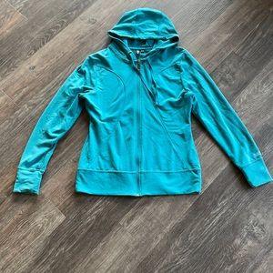 Women's Roots Zip Up Hooded Sweatshirt Sz M